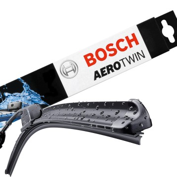 Kit Spazzole Tergi Ant. Bosch Aerotwin A501S Citroen C4 Peugeot 3008 5008 Scenic