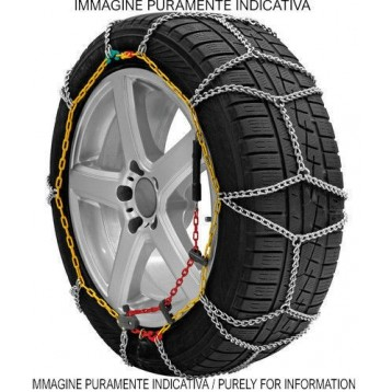 Catene da Neve 9mm GR 100 Per Pneumatici 890R15 205R15 snow chains nuove new ita