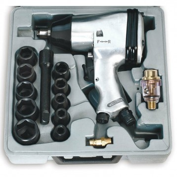 Set Avvitatore Ad Impulsi Professionale FERVI Cod.0044 Kit 13 Pezzi Top Quality